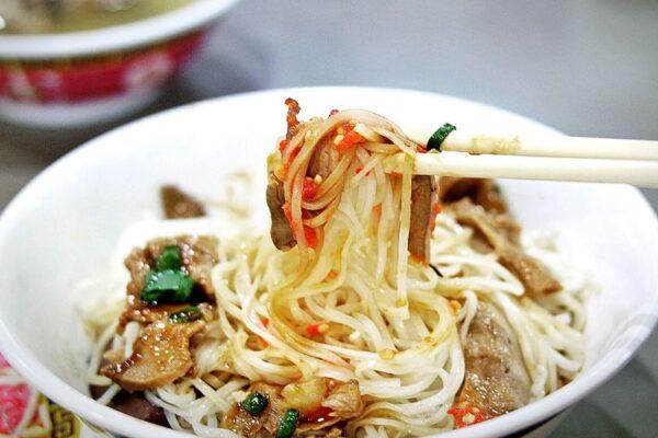 Chinese Noodle Dumpling, Battambang, Cambodia