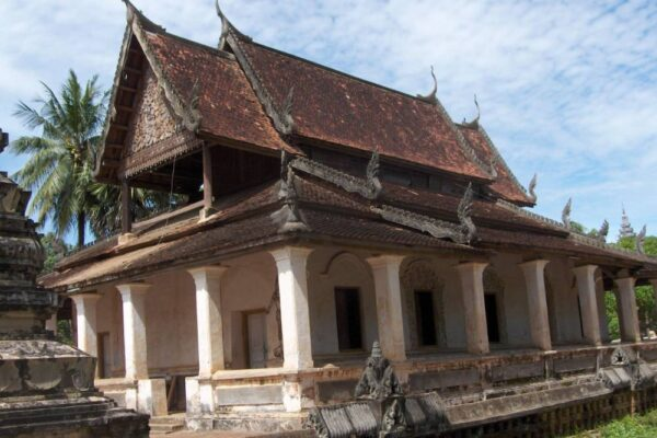 Old pagodas in Battambang